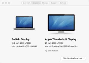 MacBook Pro 2016 with Display