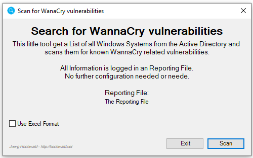 Search for EternalBlue (WannyCry) Vulnerabilities