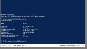 Windows PowerShell Web Access Terminal