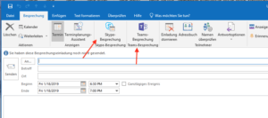 Planning in Outlook on Windows