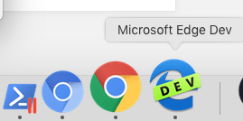 Edge on macOS
