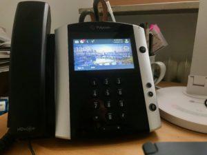 My Polycom VVX601